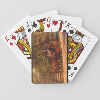 Fairman Rogers Four-in-Hand'_Art of America Playing Cards
