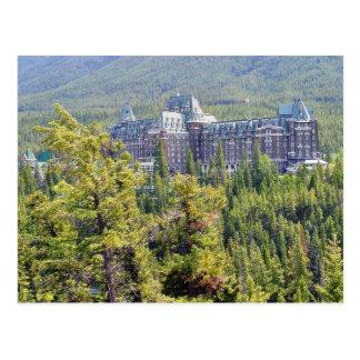 Fairmont Banff Springs Hotel en Banff Canadá Tarjeta Postal