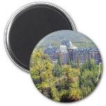Fairmont Banff Springs Hotel In Banff Canada 2 Inch Round Magnet
