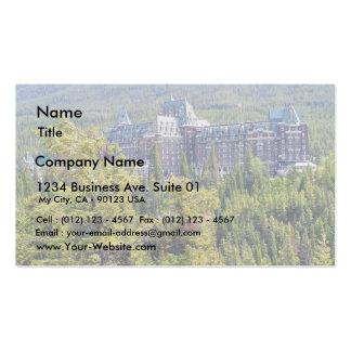 Fairmont Banff Springs Hotel In Banff Canada Business Card