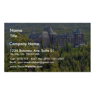 Fairmont Banff Springs Hotel In Banff Canada Business Card Templates