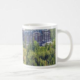 Fairmont Banff Springs Hotel In Banff Canada Coffee Mug