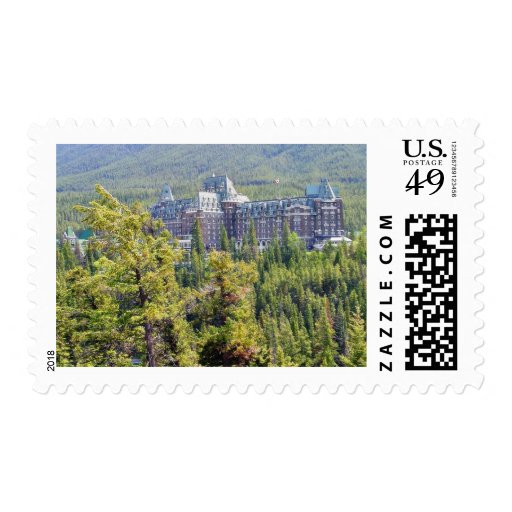 Fairmont Banff Springs Hotel In Banff Canada Stamps