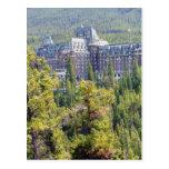 Fairmont Banff Springs Hotel In Banff Canada Postcard