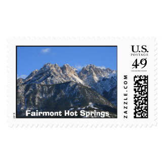 Fairmont Hot Springs Postage