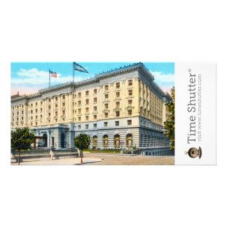 Fairmont Hotel 2 Photo Greeting Card