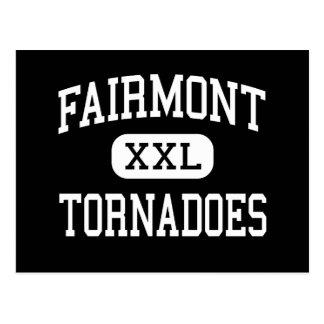 Fairmont - tornados - alto - Fairmont Tarjetas Postales