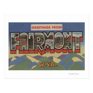 Fairmont, Virginia Occidental - escenas grandes de Tarjetas Postales