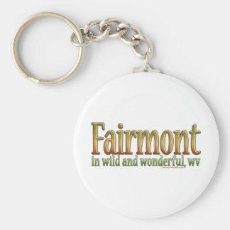 Fairmont, West Virginia Keychain