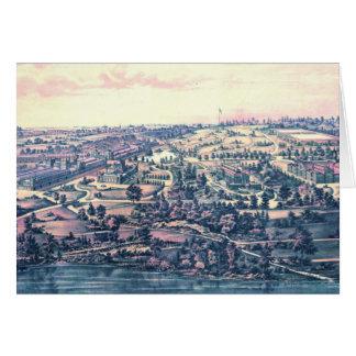 Fairmount Park Philadelphia 1876 Card