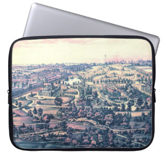 Fairmount Park Philadelphia 1876 Laptop Sleeve