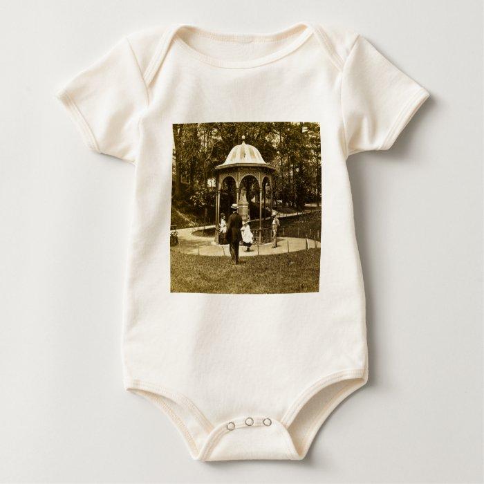Fairmount Park Vintage Philly 1902 Baby Bodysuit