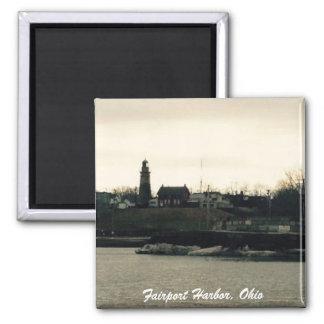 Fairport Harbor, Ohio photo magnet