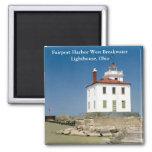 Fairport Harbor West Breakwater Lighthouse Magnet