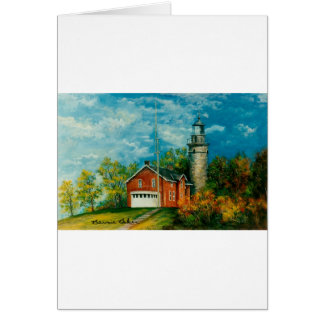 Fairport Lighthouse Musium 1997 Card