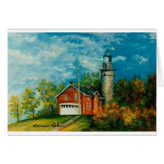 Fairport Lighthouse Musium 1997 Cards