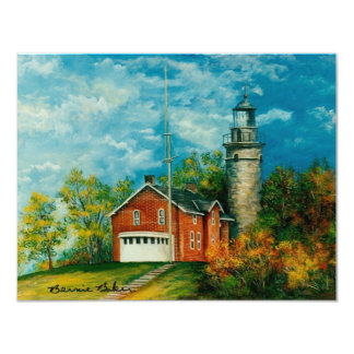 Fairport Lighthouse Musium 1997 Personalized Invites
