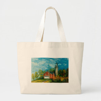 Fairport Lighthouse Musium 1997 Large Tote Bag