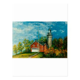 Fairport Lighthouse Musium 1997 Postcard