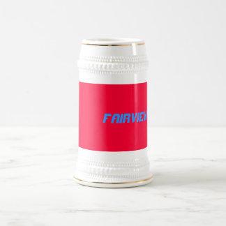 fairview 18 oz beer stein