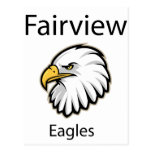 Fairview Eagles Post Card
