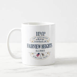 Fairview Heights, Illinois 150th Anniversary Mug