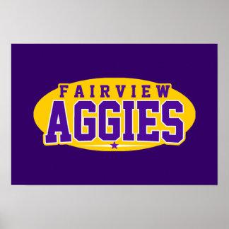 Fairview High School; Aggies Print