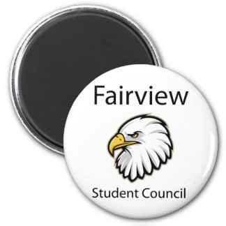 Fairview Student Council 2 Inch Round Magnet