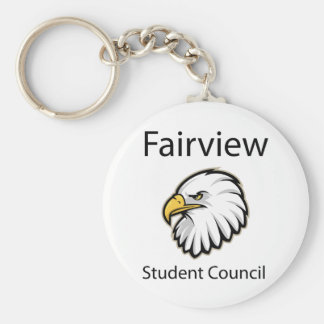 Fairview Student Council Keychain