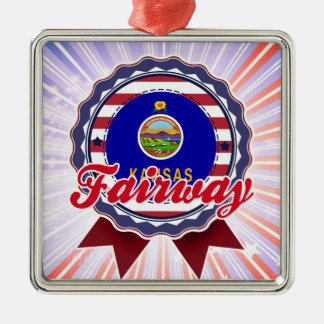 Fairway, KS Christmas Tree Ornament