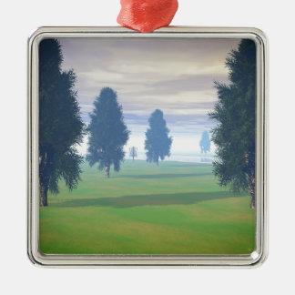 Fairway To Seven Christmas Tree Ornament