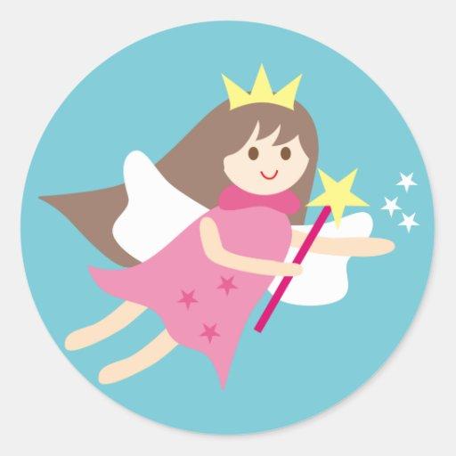 fairy4 classic round sticker