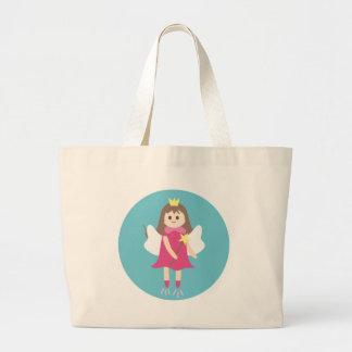 fairy5 large tote bag