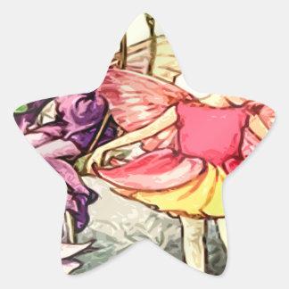 Fairy 10 star sticker