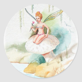 Fairy #1 classic round sticker