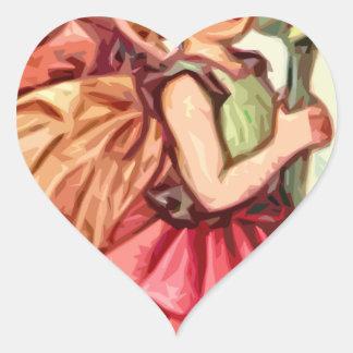 Fairy 1 heart sticker