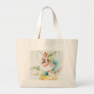 Fairy #1 large tote bag
