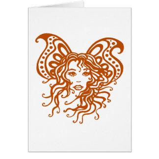 Fairy-1 místico tarjeta de felicitación