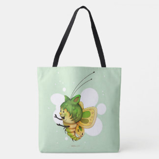 FAIRY 2 CUTE BUTTERFLY FUNNY TOTE BAG