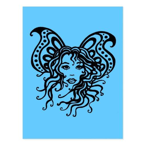 Fairy-2 místico postal