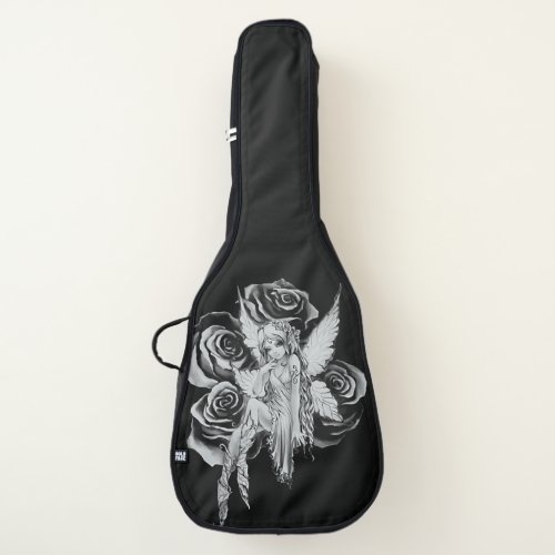 Fairy 3 Black and White Guitar Case