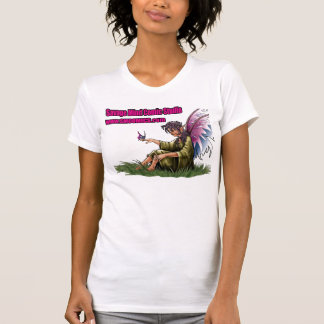 fairy_3_colors, SMCS_text_Pink_Vertical, SMweb_... T-Shirt