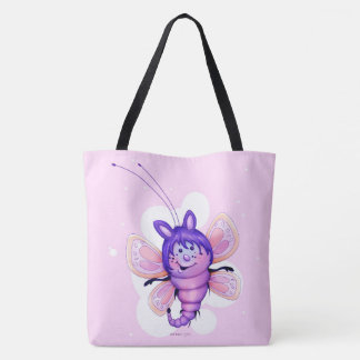 FAIRY 3 CUTE BUTTERFLY FUNNY TOTE BAG