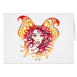 Fairy-3 místico tarjeta de felicitación