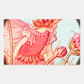 fairy 3 rectangular sticker