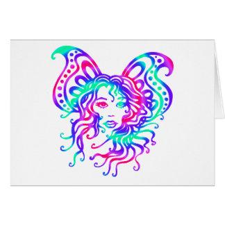 Fairy-4 místico tarjeta de felicitación