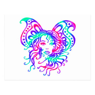 Fairy-4 místico tarjetas postales
