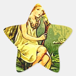 Fairy 7 star sticker