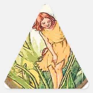Fairy 9 triangle sticker