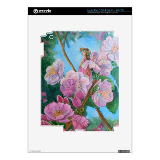 Fairy Amongst the Cherry Blossoms Decal For iPad 3
